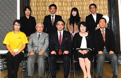 「大村知事と語る会」「健康長寿あいちの推進」