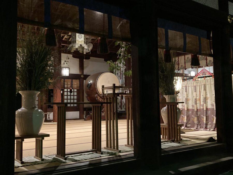 真清田神社の観月会