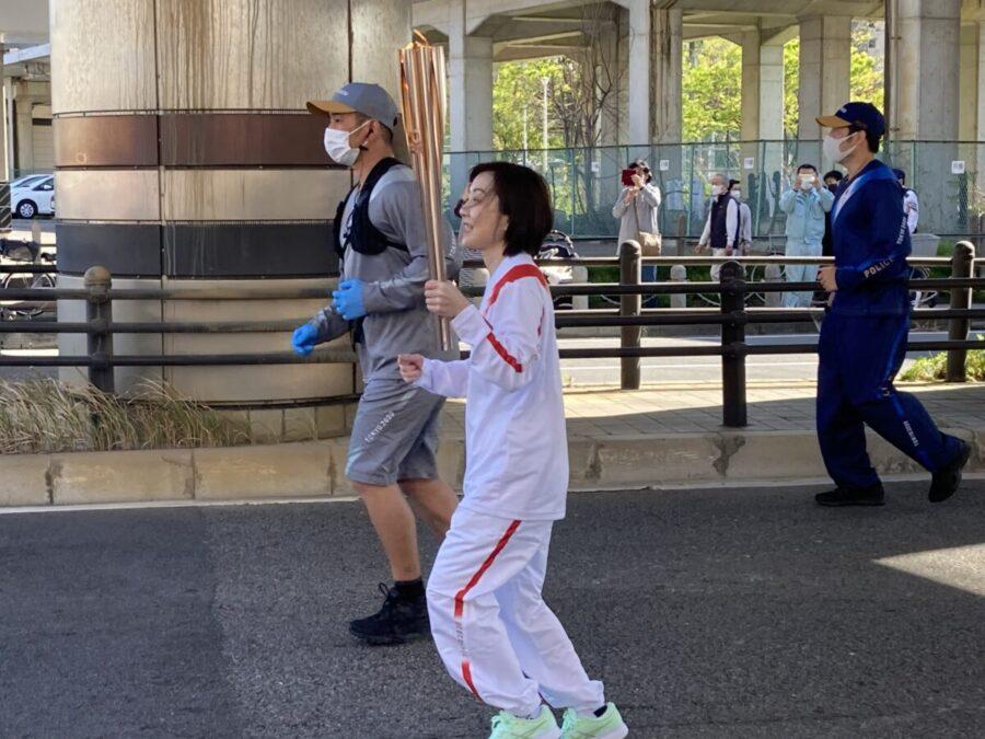 東京2020オリンピック聖火リレー 一宮市